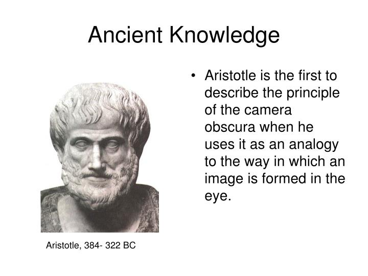 Ancient Knowledge