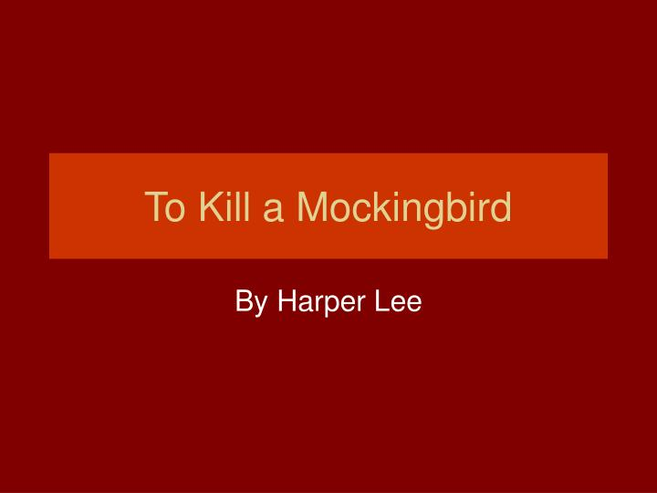 to kill a mockingbird chapter 8 sparknotes