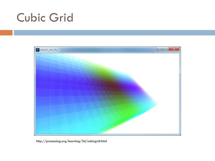 Cubic Grid
