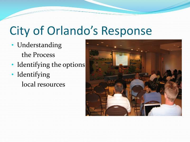 City of Orlando's Response