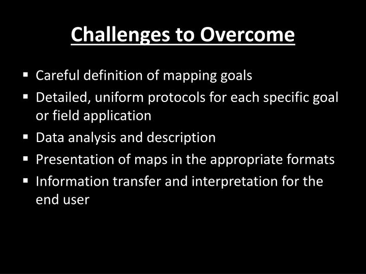 Challenges to Overcome