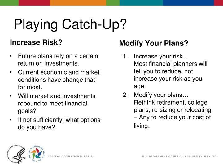 Modify Your Plans?