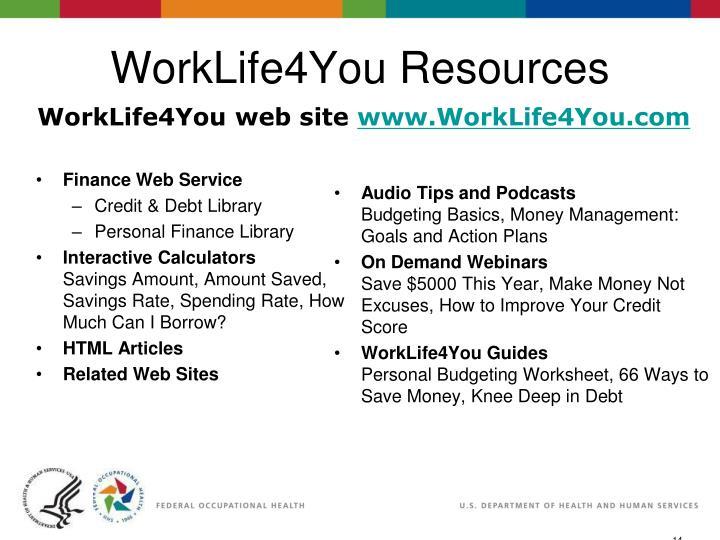 eSlide - P4065 - WorkLife4You