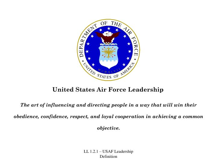 United States Air Force Leadership
