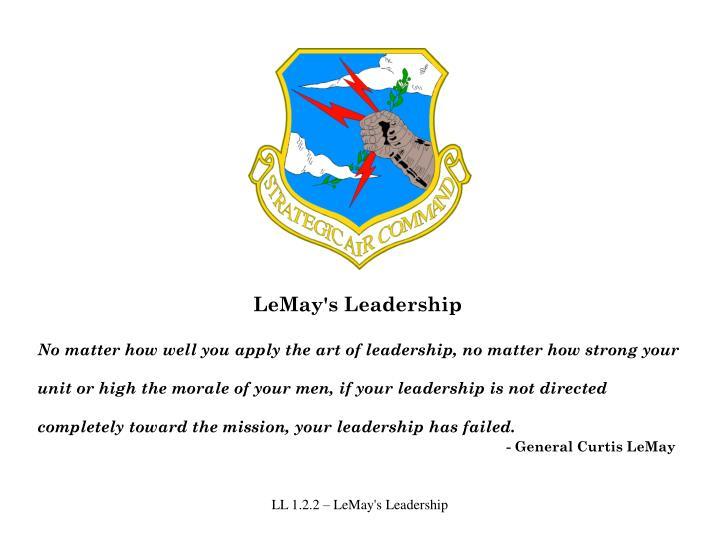 LeMay's Leadership