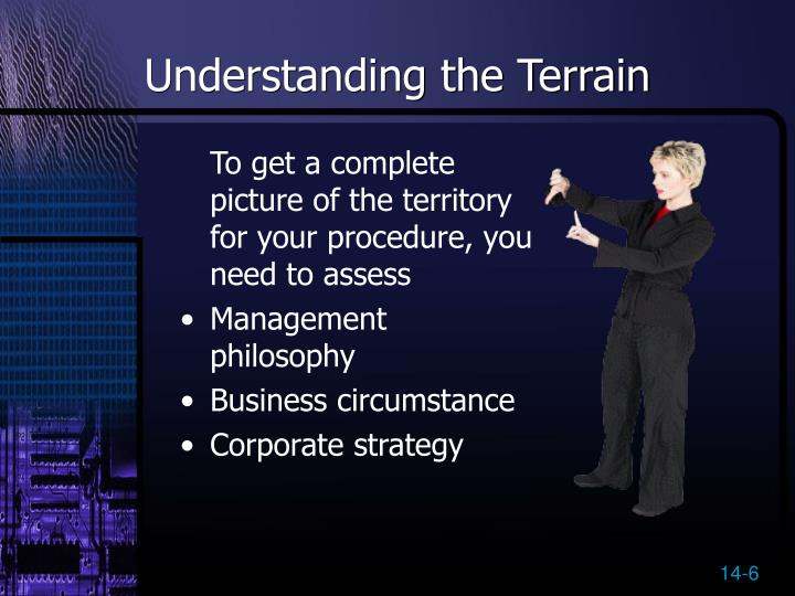 Understanding the Terrain