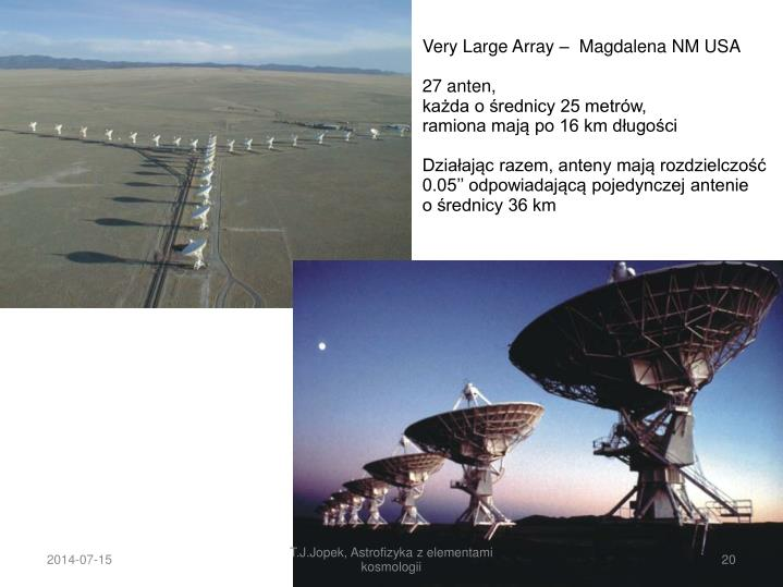 Very Large Array –  Magdalena NM USA
