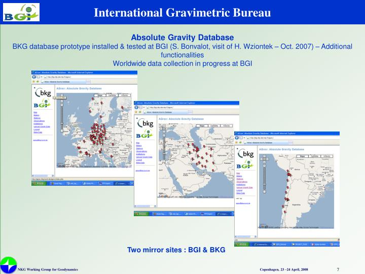 International Gravimetric Bureau