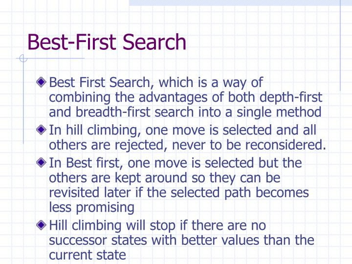 Best-First Search