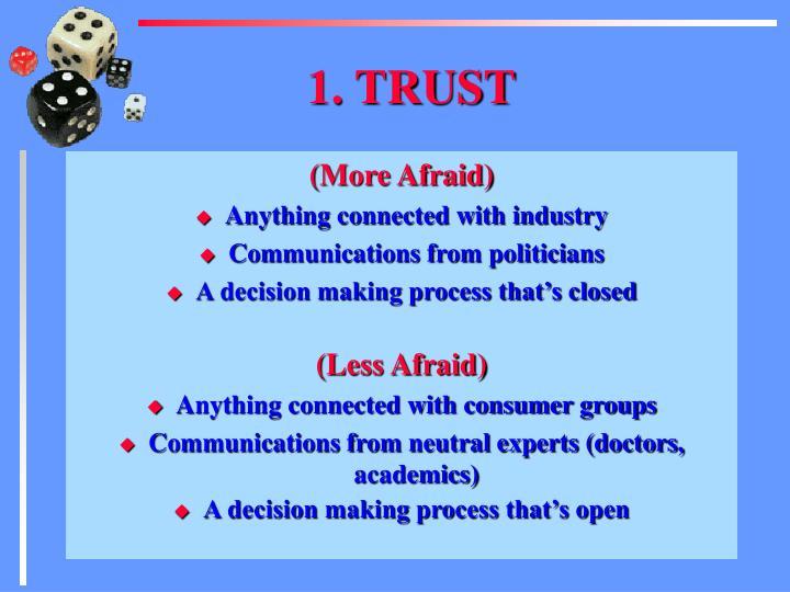1. TRUST