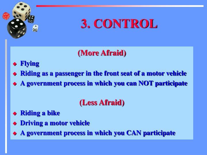 3. CONTROL