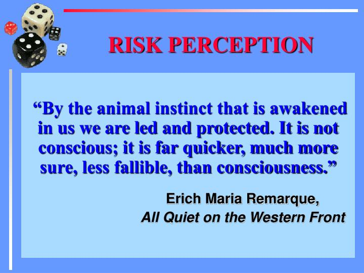"""By the animal instinct that is awakened in us we are led and protected. It is not conscious; it is far quicker, much more sure, less fallible, than consciousness."""