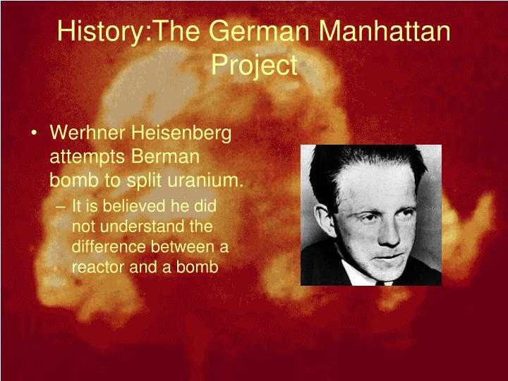 History:The German Manhattan Project