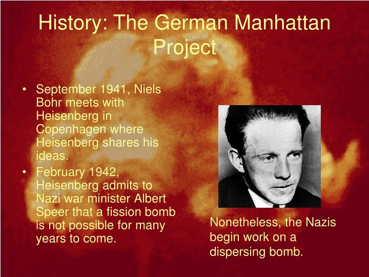 History: The German Manhattan Project