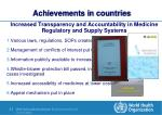 achievements in countries1