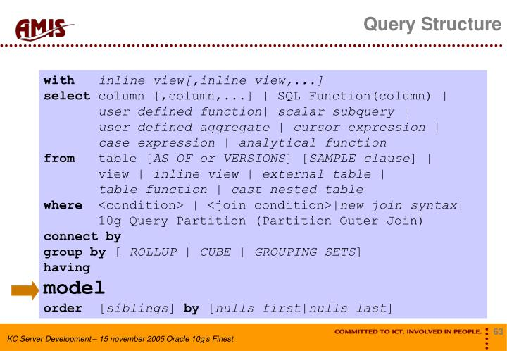 Query Structure