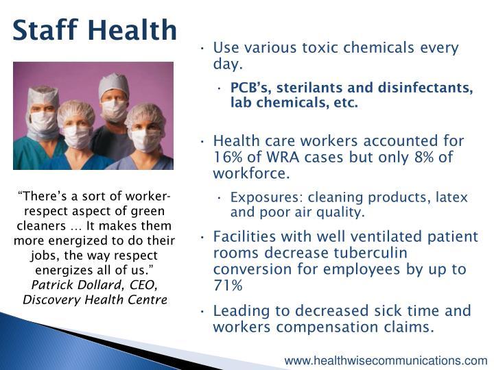 Staff Health