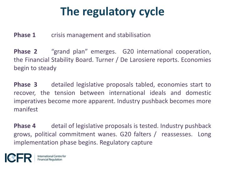 The regulatory cycle