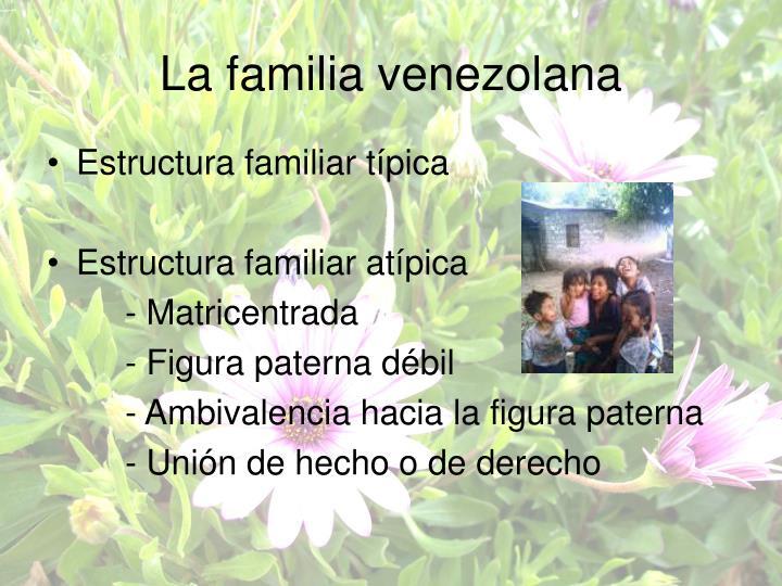 La familia venezolana