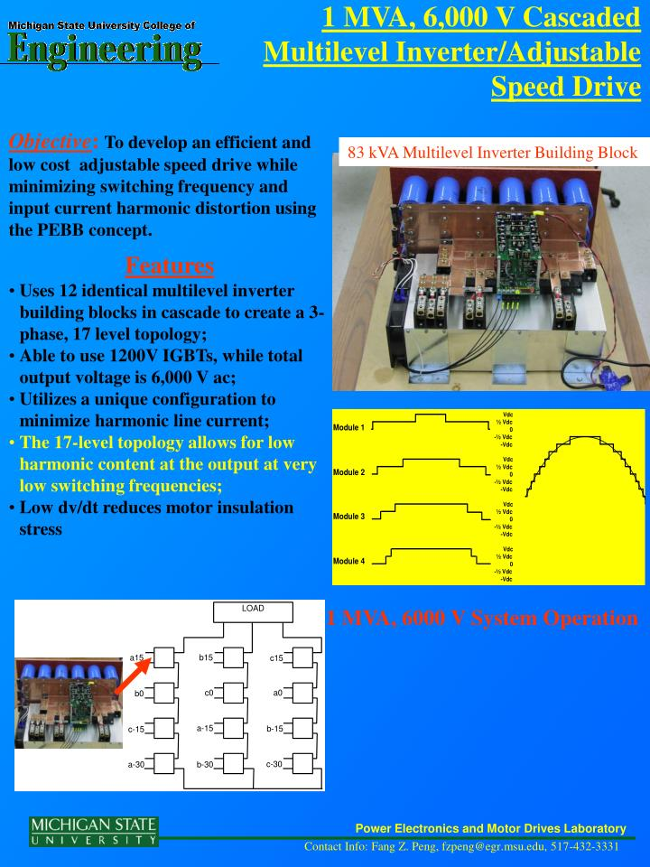 Power Electronics and Motor Drives Laboratory