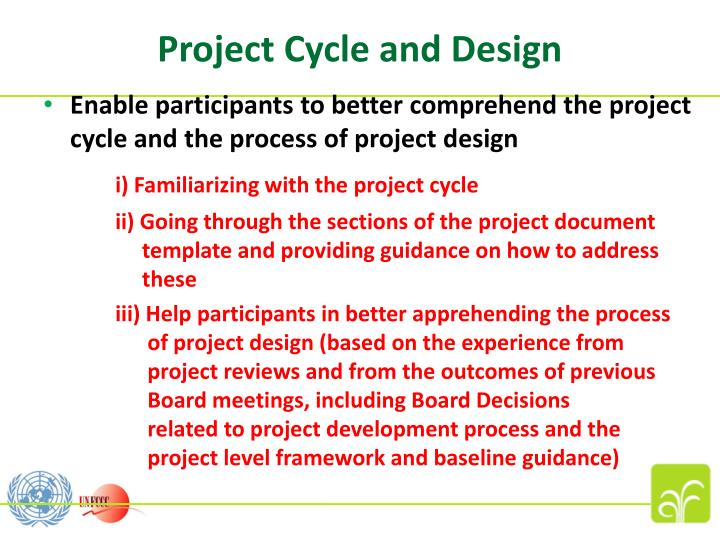 Project Cycle and Design