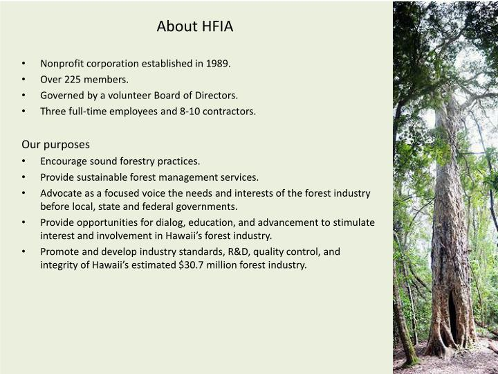 About hfia