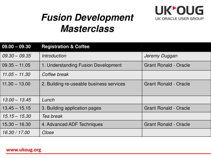 Fusion Development
