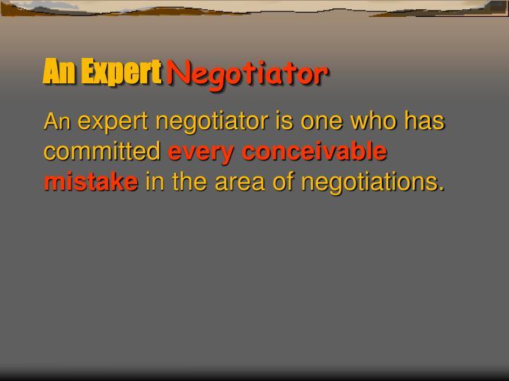 An Expert