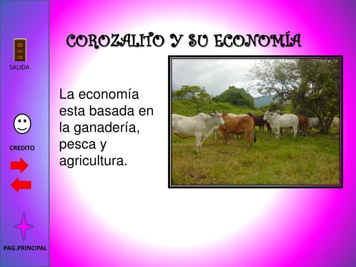 COROZALITO Y SU ECONOMÍA