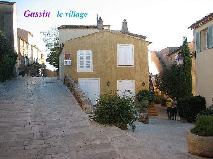 Gassin