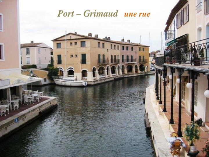 Port – Grimaud