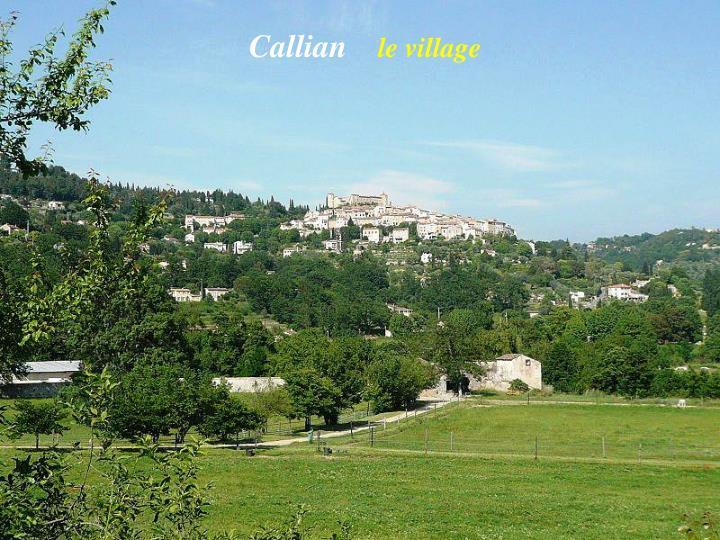 Callian