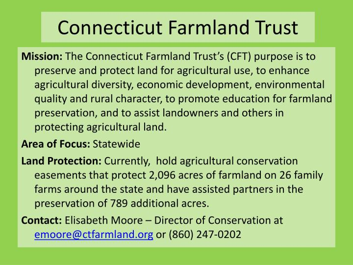 Connecticut Farmland Trust