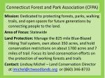 connecticut forest and park association cfpa