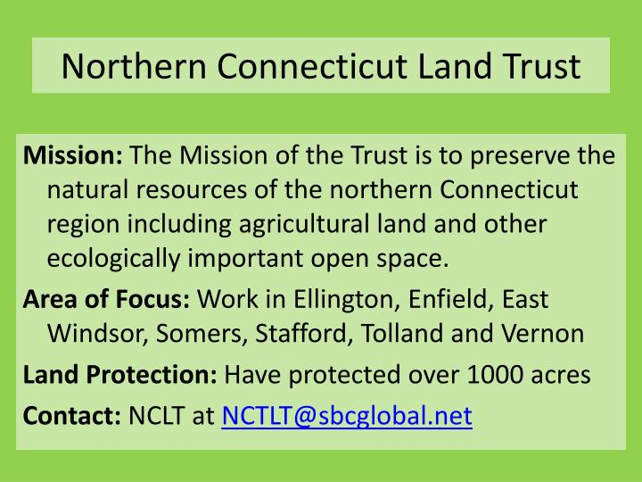 Northern Connecticut Land Trust