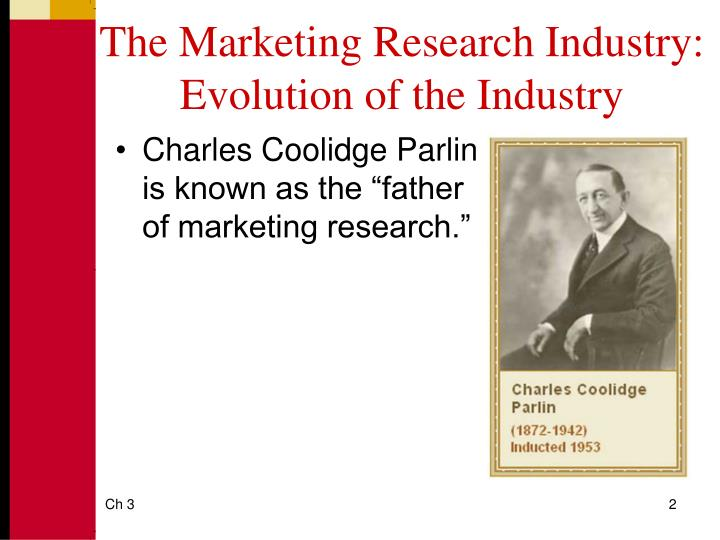 The Marketing Research Industry: