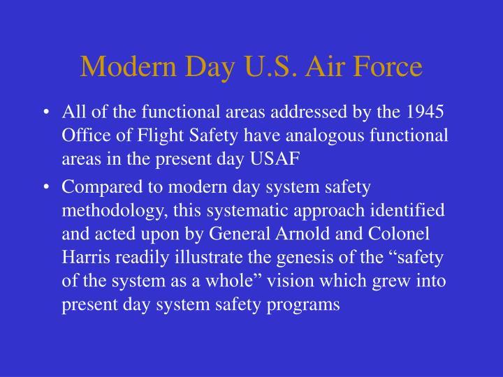 Modern Day U.S. Air Force