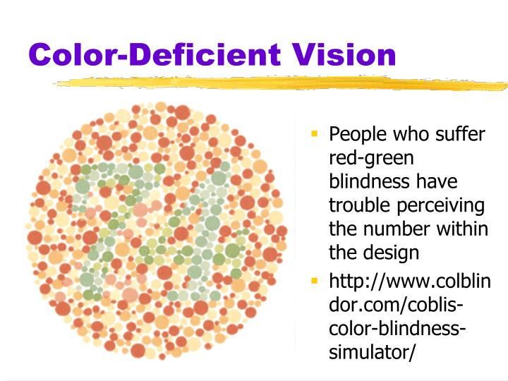 Color-Deficient Vision