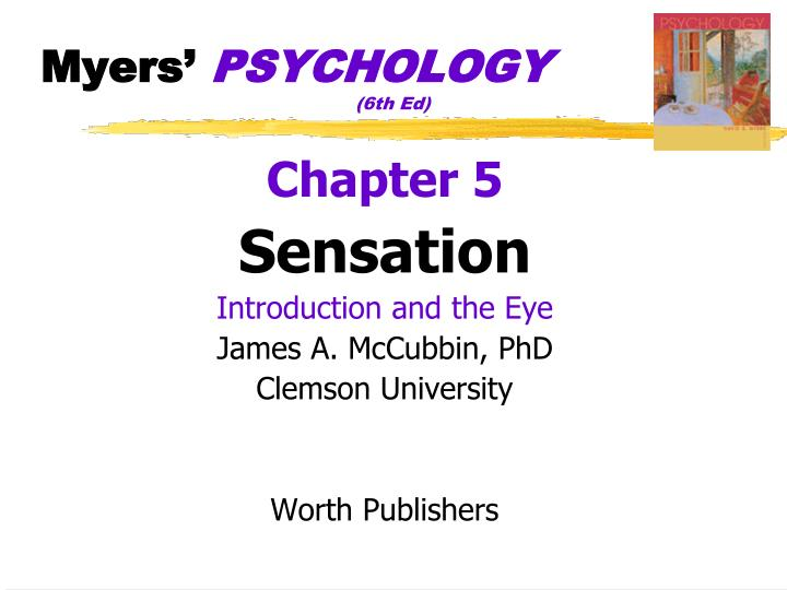 Myers psychology 6th ed