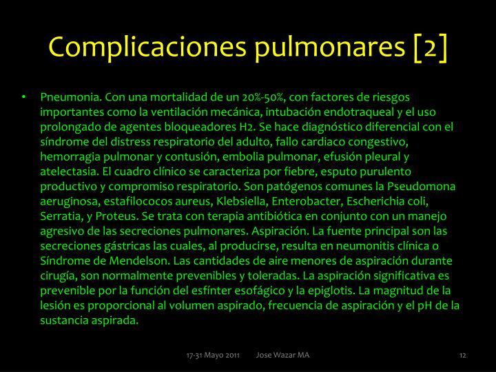 Complicaciones pulmonares [2]