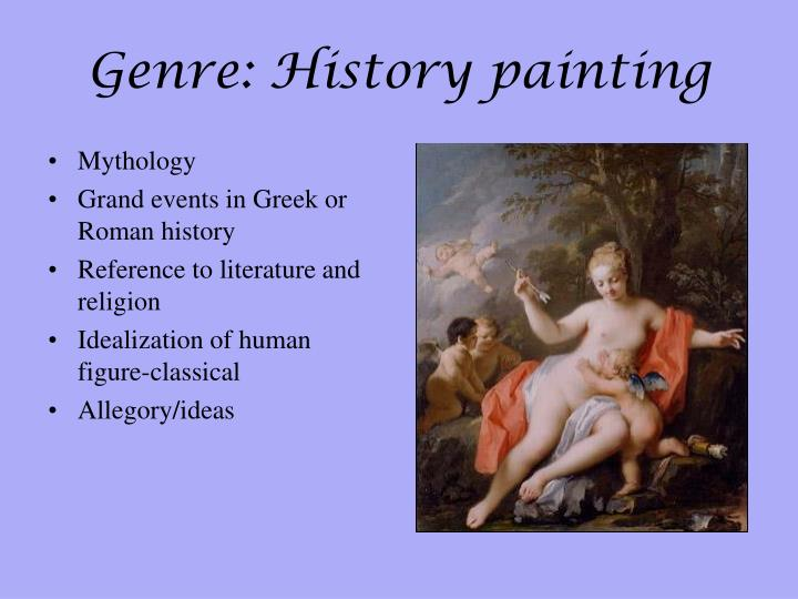 Genre: History painting
