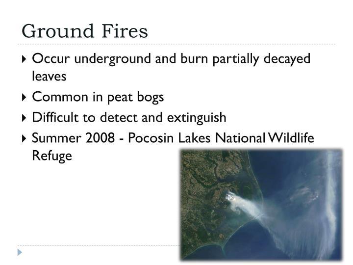 Ground Fires