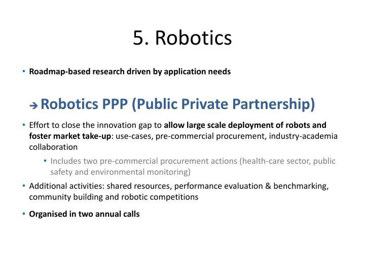 5. Robotics