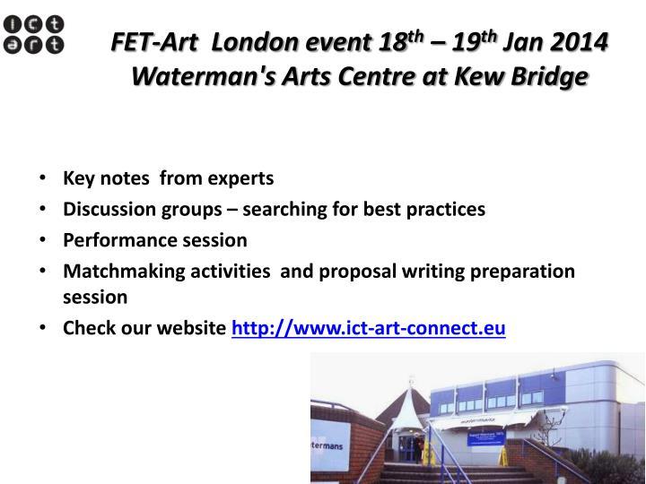 FET-Art  London event 18