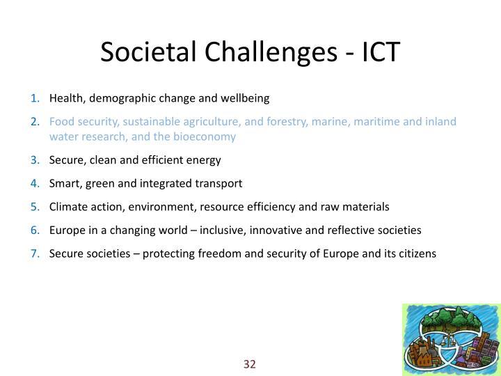 Societal Challenges - ICT