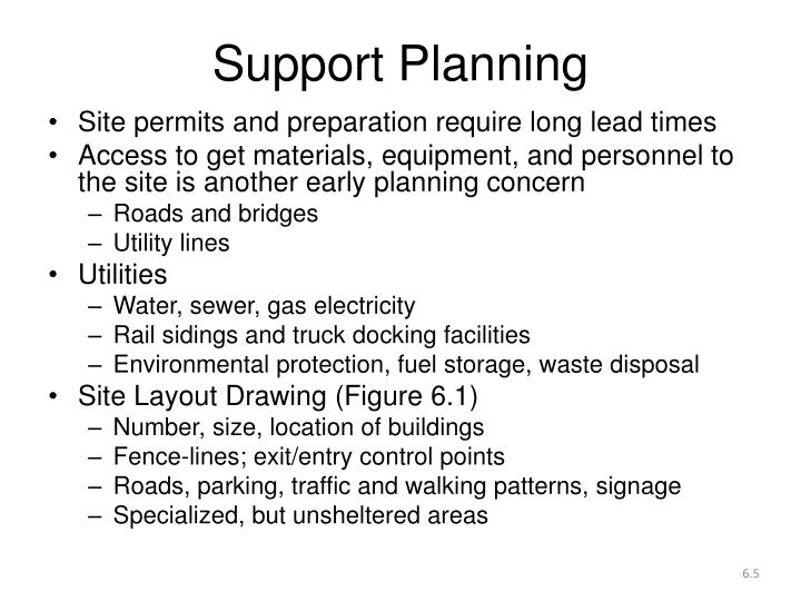 Support Planning