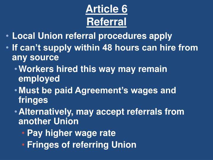 Article 6