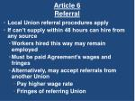 article 6 referral