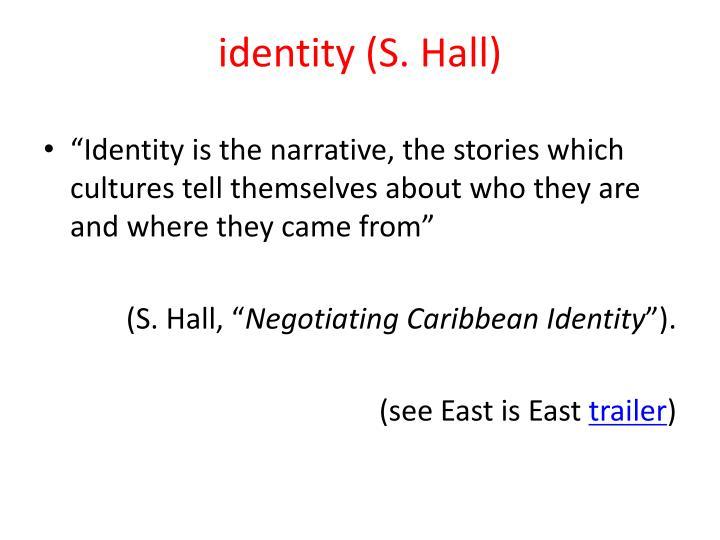 identity (S. Hall)