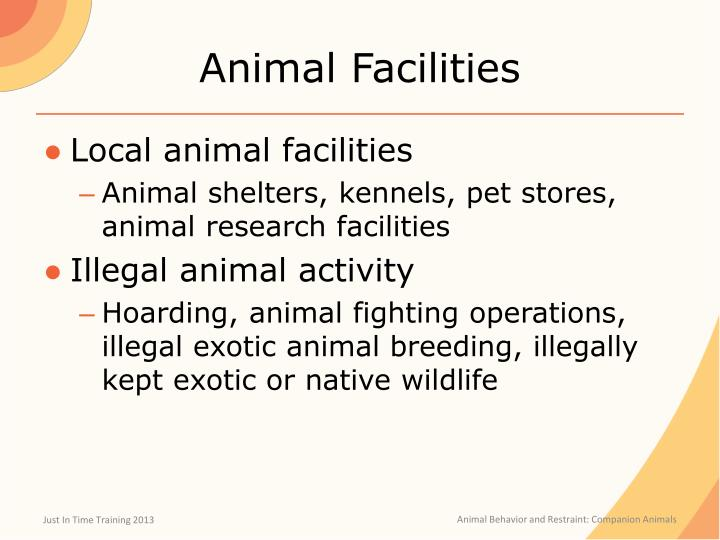 Animal Facilities